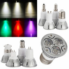 E26 E27 E14 E12 GU10 MR16 3W LED Spotlight Bulb Lamp Energy Saving AC 85-265V