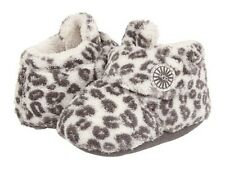 UGG Australia Infant Bixbee Snow Leopard White/Grey - Size 0/1, 2/3, 4/5