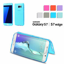 Crystal Clear Cover Full Body Protective Case For Samsung Galaxy S7/ S7 Edge US
