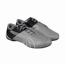 Puma Future Cat M1 Core Mens Grey Leather & Synthetic Lace Up Sneakers Shoes