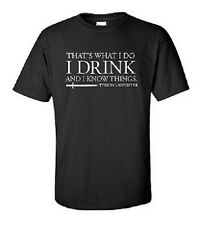 Thats What I Do T Shirt Tyrion Lannister Game Of Thrones TV Series GOT Mens Hot