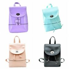1PCS 1X New Backpack Travel PU Leather Handbag Rucksack Shoulder School Bag YY