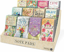 Punch Studio E7 Inspirational Large Pocket Note Pads – Various Designs