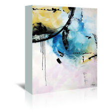 Americanflat Crazy 12 by Annie Rodrigue Painting Print on Wrapped Canvas