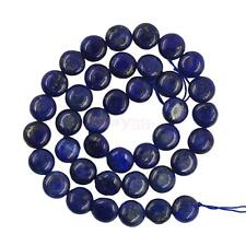 8/10mm Oval Blue Lapis Lazuli Gemstone Loose Bead Strand Jewelry Making 15.5 In