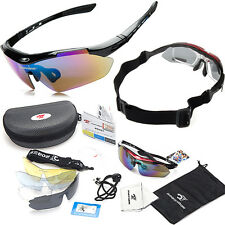 Polarized Riding MTB Bike Sport Goggles Cycling Glasses Sunglasses UV Protection