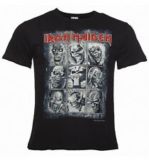 Official Men's Black Iron Maiden Nine Eddies T-Shirt from Amplified