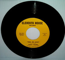 Northern Soul JIMMY THORPE Free Me Love 45 Eleventh House Private Crossover Funk