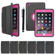 New Smart Magnetic Shockproof Heavy Duty Case Cover for Apple iPad Min&Air&Pro