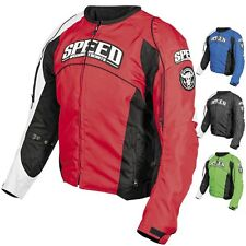 Speed and Strength Street Riding Top Dead Center Textile Motorcycle Jackets
