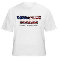 Yorkshire Terrier - America's Best Dog Breed T-Shirt-Sizes Small through 5XL