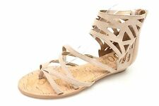 SAM EDELMAN DANA Beige Tan Leather Strappy sandals  Size 5.5,8.5