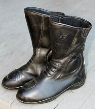 Oxtar Matrix Italian Leather / Gore-Tex Motorcycle Touring Boots 45 VG NR