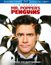 Mr. Poppers Penguins Blu-ray/DVD, 2011, 3-Disc Set, Includes Digital Copy **NEW*