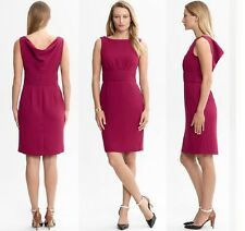 BANANA REPUBLIC WOMENS DRAPED VERA COCKTAIL $130.00 DRESS 8