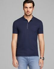 Hugo Hugo Boss men Dark Blue Dathis slim polo Short Sleeve T-shirt size S