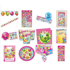 Shopkins Partyware - Plates, Cups and Banners