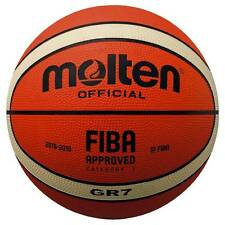 Molten Bgr7 Bgr6 Bgr5 Fiba Approved Highly Durable Rubber Training Basketball