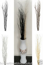 Homestreet Contorted Twisted Willow Twigs Tall Bunch Floor Standing Vases New