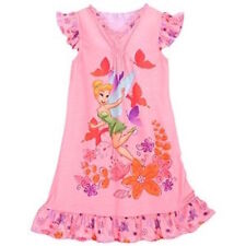 Disney Store Tinkerbell Tinker Bell Girls Nightgown Nightshirt Extra Small XS