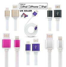 FAST USB DATA SYNC CHARGER CABLE LEAD FOR iPhone 5 5S 5C 6 6s Plus iPad 4 Air 1