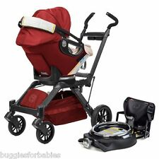 Orbit Baby G3 Travel System w/ Infant Car Seat & Base, Ruby - NEW - OPEN BOX