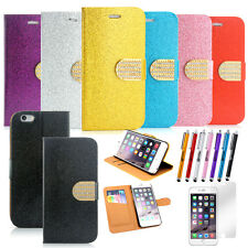 Luxury Leather Wallet Card Holder Magnetic Flip Case Cover For iPhone 6 / 6S