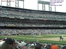 8/26 San Francisco GIANTS Atlanta BRAVES ( 10 tix!) LOWER BOX  Bill Graham Night