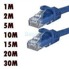 1M-10M Network Ethernet RJ45 Cat5E CAT6 UTP PATCH Cable Lead Connectors