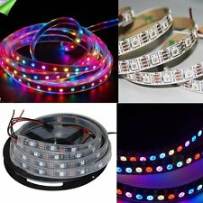 WS2811 WS2812 5050 RGB Full Color LED strip Light  Individually Addressable 5V
