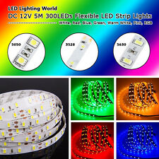 5M 3528 SMD 300 LED 60Led/M Strip Lights 5050,5630 Flexible LED Lights Strip