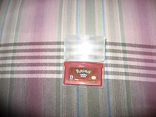 Pokemon Nintendo GBA FireRed Version WORKING Game Boy Advance SP DS & Case Fire