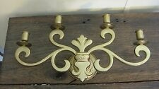VINTAGE MID CENTURY TAPER CANDLE HOLDER HOME & GARDEN WALL SCONCE LIGHT LAMP