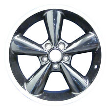 OEM Remanufactured 18x8.5 Alloy Wheel, Rim Black Painted with Flange Cut - 3648