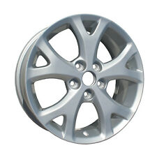 New 17x6.5 Aluminum Alloy Wheel, Rim Sparkle Silver Full Face Painted - 64895