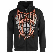 TAPOUT SKULL HOODY - BLACK