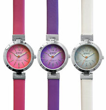 Prestige Medical High Fashion Leather Scrub / Nurse Watch 1623, Different Colors