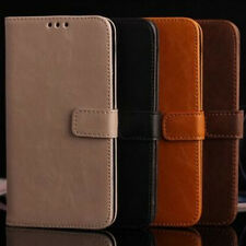 Luxury Leather Magnetic Flip Card Wallet Stand Cover Case For Samsung Galaxy S5