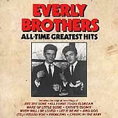 The Everly Brothers - All-Time Greatest Hits (CD, Curb, D) Bye Bye Love, Wake Up