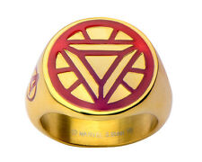 Marvel Iron Man Vector Arc Reactor Stainless Steel Ring