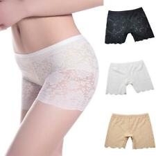 Fashion Womens Lace Soft Seamless Safety Under Shorts Leggings Pants Underwear