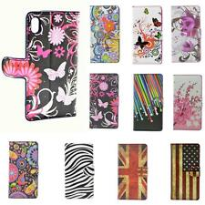 Leather Wallet Flip Case Cover Magnetic Stand Skin For Sony Xperia Z2 Z1 Z M2 E1