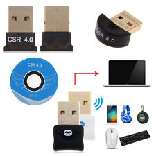 Bluetooth V4.0 USB2.0 Dongle Wireless Adapter for PC Laptop Notebook 3Mbps Speed