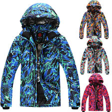 Men Ski Jacket Snowboarding Skiing Sports Coat Waterproof Windproof S M L XL XXL