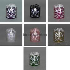 50X Romantic Flameless Tea Light Candle Holders Paper Lampshades Wedding Decor