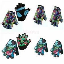 Outdoor Sports Racing Cycling MTB Bike Bicycle Gel Half Finger Gloves