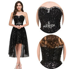 Sequins Evening Dress Bridesmaid Cocktail Formal Party Gowns Prom Dress Banquet