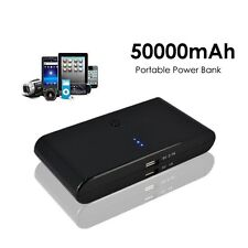 New 50000mAh Portable Backup External Battery Charger Power Bank for Cell Phone