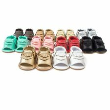 Kids Baby Girls Boys Sandals Crib Summer Shoes Anti-Slip Soft Sole Prewalkers