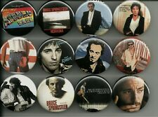 Bruce Springsteen Album Covers 1.5 inch Pins Buttons Magnets Set